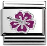 Nomination Fuchsia Hibiscus Classic Charm 330202/23
