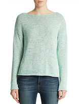 Lord & Taylor Spacedye Boxy Pullover