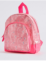 Marks and Spencer Kids' Faux Leather Unicorn Print Rucksack