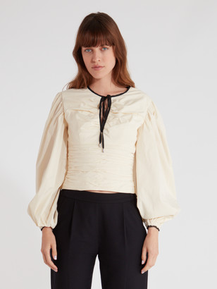 C/Meo Collective Keeping Time Balloon Sleeve Top