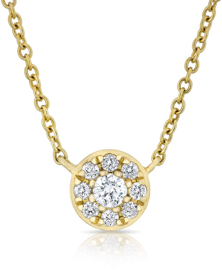 Anne Sisteron Disk Necklace