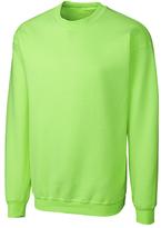 Clique Lime Fleece Crewneck Pullover