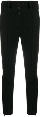 Ann Demeulemeester High-Waist Fitted Trousers