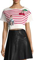 Dolce & Gabbana Women's Stripes Cotton T-Shirt