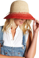 Helen Kaminski Rollable Raffia Crochet Round Hat