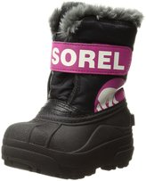 Sorel Unisex Snow Commander Boots (Toddler Sizes 8 - 12) - haute pink/, 10 toddler