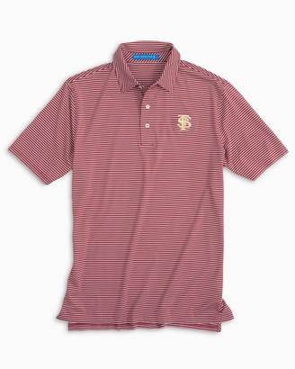Southern Tide FSU Seminoles Striped Polo Shirt