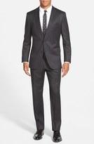 BOSS Men's 'Johnstons/lenon' Trim Fit Wool Suit