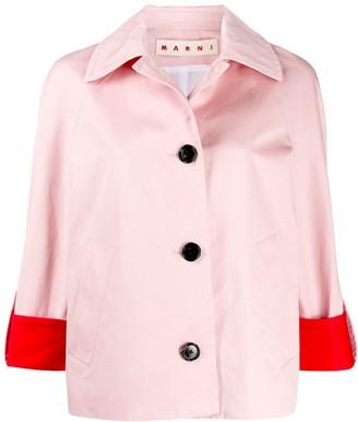 Marni Boxy Colour-Block Jacket