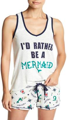 PJ Salvage Soul Mates Rather Be A Mermaid Tank Top