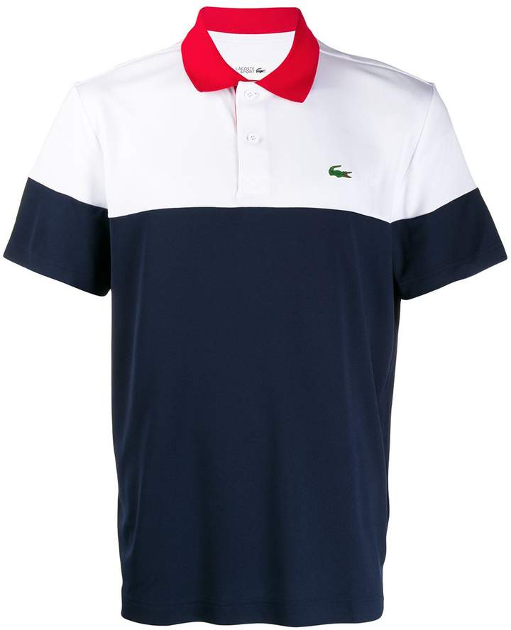 9403d712 colour block polo shirt