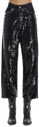 Golden Goose Sequin Embellished Jeans