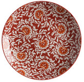 Maxwell & Williams Boho Plate Damask Red 27cm