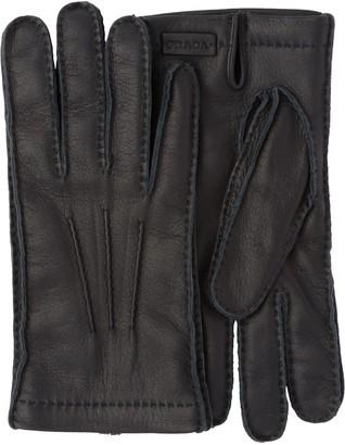 Prada Deer Leather Gloves