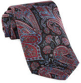 Rochester Made in Italy Large Paisley Silk Tie Casual Male XL Big & Tall