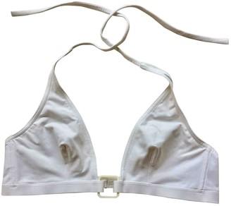 Eres White Lycra Swimwear for Women