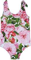 Dolce & Gabbana Floral Tank Swimsuit