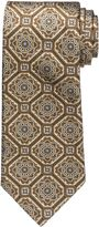 Jos. A. Bank Signature Gold Large Medallion Tie