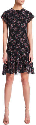 Nell Floral Spotting Dress