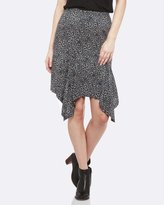 Oxford Heidi Abstract Print Skirt