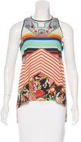 Clover Canyon Digital Printed Sleeveless Top