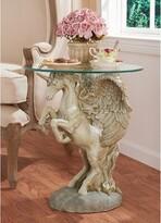 Toscano Mystical Winged Unicorn End Table Design