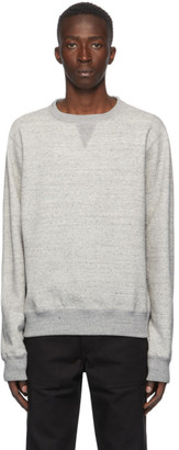 Naked and Famous Denim Grey Heavyweight Terry Crewneck