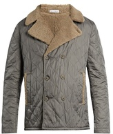 Tomas Maier Diamond-quilted nylon jacket