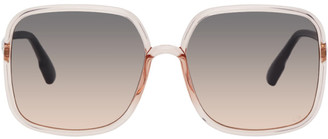 Christian Dior Pink Oversized SoStellaire1 Sunglasses