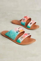 Jasper & Jeera Painted Watercolors Slide Sandals