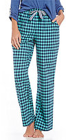 Sleep Sense Mini Buffalo Plaid Flannel Sleep Pants