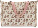 Pink Lining Bramley In the Mews Pink Bikes Diaper Tote