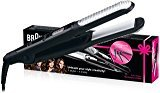 Braun ST550 Satin Hair 5 Holiday Edition Styler Ceramic Flat Iron Hair Straightener (220V Will not work in the USA)