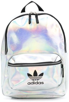 adidas holographic effect backpack