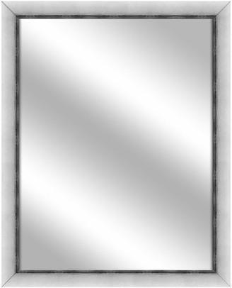 PTM Images Over the sink Vanity Mirror, Stainless Silver, 24.75x30.75