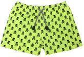 MC2 Saint Barth Skulls Print Nylon Swim Shorts