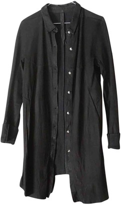 Isaac Sellam Black Leather Tops