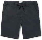 Hartford - Slim-fit Cotton Drawstring Shorts