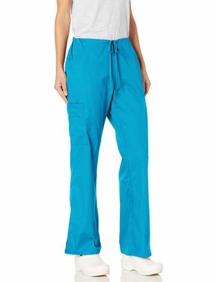 Dickies Women's Mid Rise Drawstring Cargo Scrub Pant Medical
