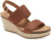 Aetrex Summer Platform Wedge Sandal