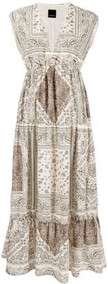 Pinko Paisley-Print Dress