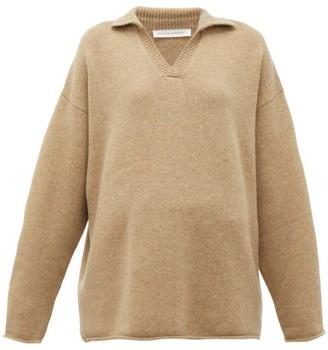 Extreme Cashmere - No. 101 Jules Stretch-cashmere Sweater - Camel