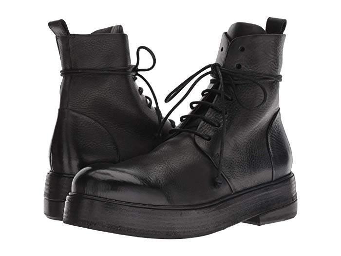 e5229cb2a31 Zuccolona Smooth Leather Combat Boot