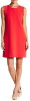 Cynthia Steffe Dahlia Lace Trim Sleeveless Shift Dress