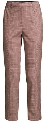 Rebecca Taylor Tailored Plaid Pants