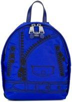 Moschino trompe-l'œil backpack