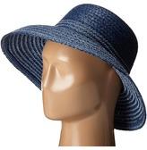 Lauren Ralph Lauren Braided Top Stitched Raffia Sun Hat