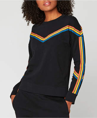 Threads 4 Thought Striped Pullover Sweatshirt