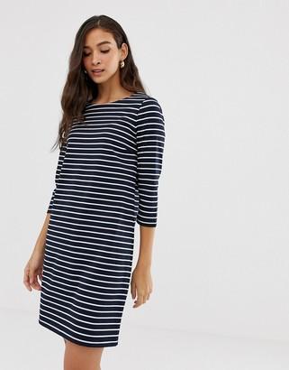 Vila Stripe 3/4 Sleeve Dress