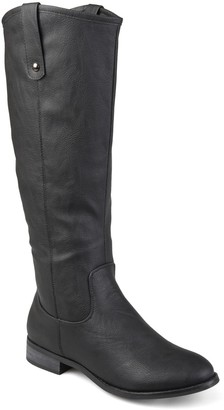 Journee Collection Taven Mid Calf Boot - Wide Calf